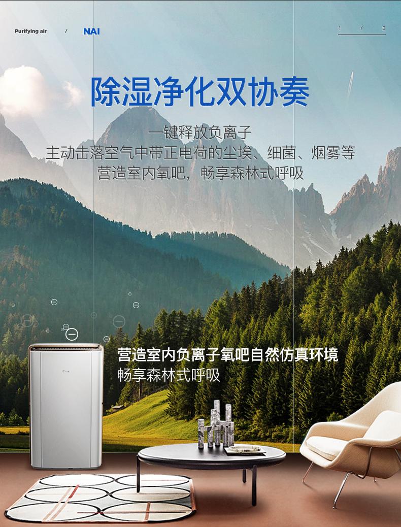 德业北京DYD-V58A3家用除湿机