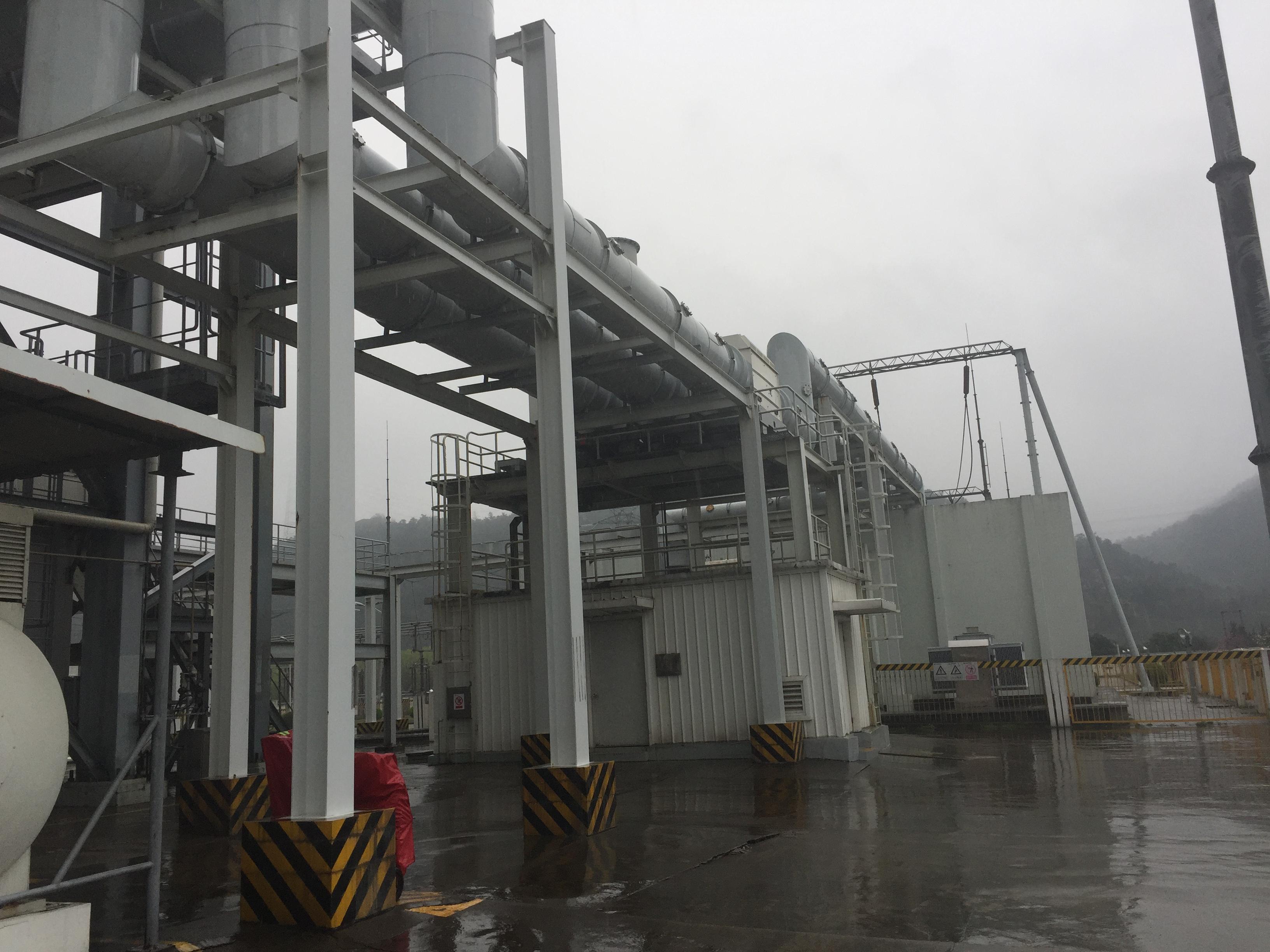 余姚国华电厂除湿案例