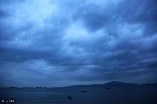 暴雨将至 满地潮湿