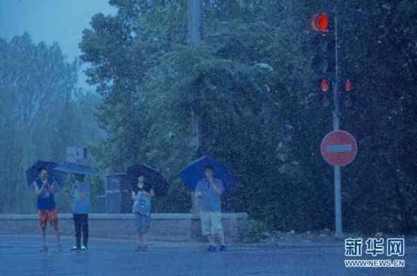 降雨云北上,雷阵雨不断 未来3天北京持续闷热潮湿