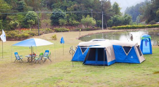 气候宜人:帐篷中的除湿