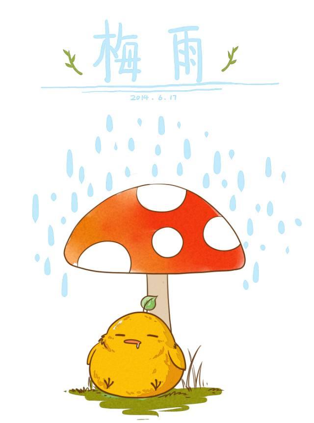 """梅雨季过得有诗意,而不再""""湿意"""""""